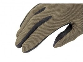 Quick Release Tactical Gloves - OD [Armored Claw]