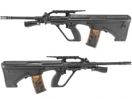 Airsoft rifle AUG R901 - Civilian / Police model - black [Army]