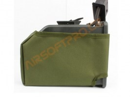 M249 ammo box camouflage cover - Green [AS-Tex]