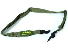 3-point rifle sling - OD [AS-Tex]