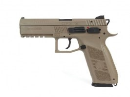 Airsoft pistol CZ P-09 FDE, Gas blowback [ASG]