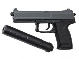 Airsoft pistol DL60 SOCOM with silencer - spring action [ASG]