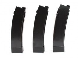 Set of 3pcs midcap magazines for ASG Scorpion EVO 3 A1, 75 rds - black [ASG]