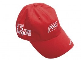 ASG sports cap - red