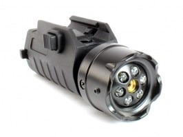Tactical LED flashlight with Laser sight [ASG]