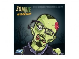 Cardboard target Zombie nation 14 x 14 cm No.2, 10pcs [ASG]
