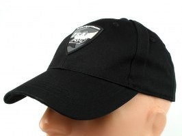 TEAM ASG sports cap with Velcro - black