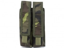 Double MOLLE magazine pouch for EVO Scorpion / MP5, MOLLE - vz.95 [AS-Tex]