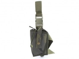 Drop leg holster with double lock Gen.2 - vz.95 (for left-handers) [AS-Tex]