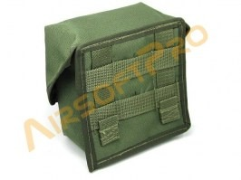 MOLLE universal pocket 16x16cm - green [AS-Tex]
