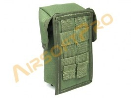MOLLE universal pocket 9x16cm - green [AS-Tex]