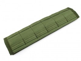 MOLLE belt sleeve (6 positions) - green [AS-Tex]