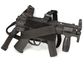 MP5K leg holster -black [AS-Tex]
