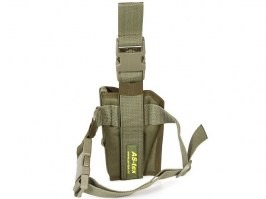 Drop Leg holster with double lock Gen.2 - OD [AS-Tex]