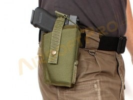 Holster with double lock Gen.2 - Molle - OD [AS-Tex]