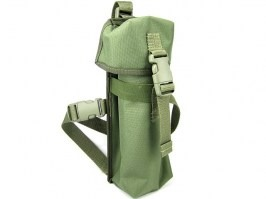 Pistol leg holster for green gas -green [AS-Tex]