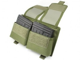 Double MOLLE SVD pocket - OD [AS-Tex]