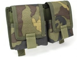 Double MOLLE SVD pocket - vz.95 camo [AS-Tex]