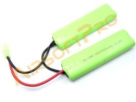Akumulátor 9,6V 2200mAh Ni-MH - Twin AA [VB Power]