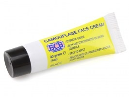 Camouflage cream in tube, 30g - black [Bushcraft]