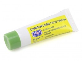 Camouflage cream in tube, 30g - green [Bushcraft]