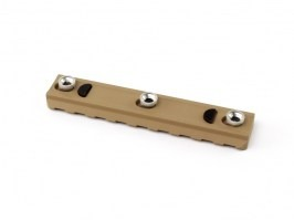 RIS mount rail for KeyMod System - 95mm - TAN [Big Dragon]