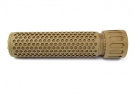 Quick Detach Supressor / Silencer KAC QDC, 175mm - TAN [Big Dragon]