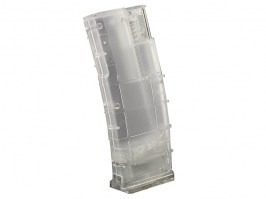 Airsoft 400 rds M4 mag style speed loader - clear [Big Dragon]