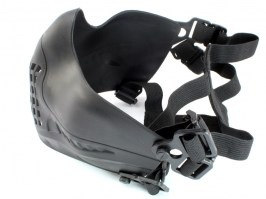 Face protecting Tactical Pilot mask - Black [Big Dragon]