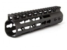 "Keymod style Float 7"" Hand Guard - black"