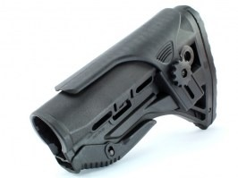M4 retractable GL stock - black [Big Dragon]