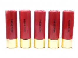 M870 Dummy shotshell - 5 pieces [Big Dragon]