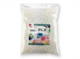 Airsoft BBs BLS Competition Match Grade 0,12g 8300pcs - white [BLS]