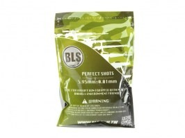Airsoft BBs BLS BIO Ultimate Heavy 0,43g 1000pcs - white [BLS]