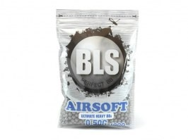 Airsoft BBs BLS Steinless 0,50g 1000pcs - grey [BLS]