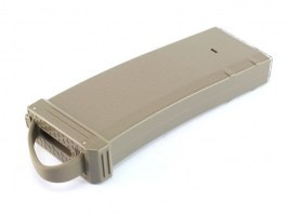 Mid-Cap 150 rds tracer magazine for M4 AEG + mag style bottle + 1200 tracer BBs - TAN [BLS]