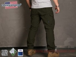 Blue Label Ergonomic Fit Long trousers - Ranger Green [EmersonGear]