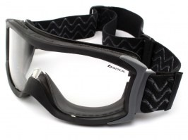 Tactical goggle X1000 Platinum (X1NSTDI) black - clear [Bollé]