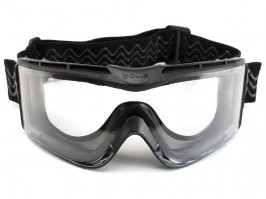 Tactical goggle X810 Platinum (X810NPSI) black - clear [Bollé]