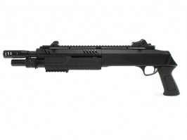 Airsoft FABARM STF/12-11 Spring Shotgun, short - black [BO Manufacture]