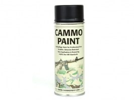 Cammo paint - Black (RAL 9021) [Glomex]