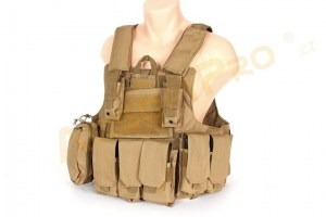 Tactical vest CIRAS modular - Coyote Brown (CB) [A.C.M.]