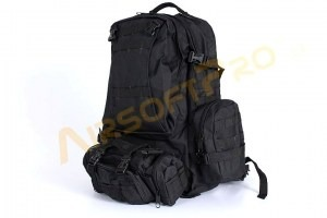 45L Combat combine backpack bag - black [A.C.M.]