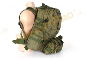 45L Combat combine backpack bag - olive [A.C.M.]