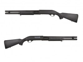 M870 shotgun with the solid NYLON stock, long, METAL (CM.350LMN) [CYMA]