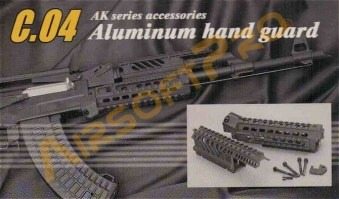 X47 RIS foregrip for AK47 [CYMA]