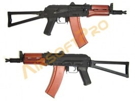 AKS74U - full metal, wood (CM.045A G55) [CYMA]