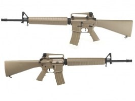 Airsoft rifle M16A3, (CM.017) - TAN [CYMA]
