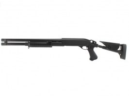M870 shotgun with the tactical ABS stock, long, METAL (CM.353LM) [CYMA]