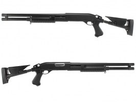 M870 shotgun with the tactical ABS stock, long, METAL (CM.353LM)